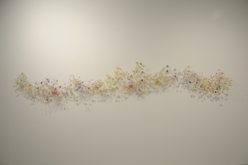 "Season of Change 18"" x 96"" x 12"" Resin, wire 2011"
