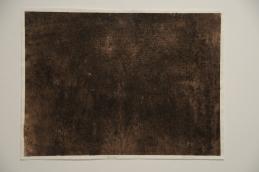 "Black Rain 22"" x 30"" Ink on paper 2010"