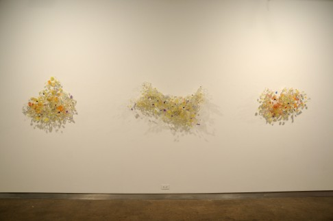 Coming, Milestone, and Bloom Resin, wire 2011