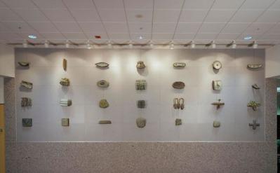 Georgia on My Mind 11'x27' wall Cast bronze Hartsfield Atlanta International Airport, 1999