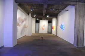 1.Yuriko Yamaguchi, Installation view-Howard Scott Gallery, 2016