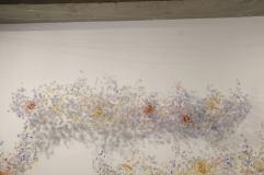10.Yuriko Yamaguchi, -Cloud-, detail #1 at Howard Scott gallery, 2016