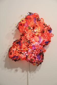 15.Yuriko Yamaguchi, -Red- at Howard Scott gallery, 2016