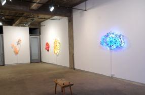 3.Yuriko Yamaguchi, Installation view-Howard Scott gallery #3, 2016,