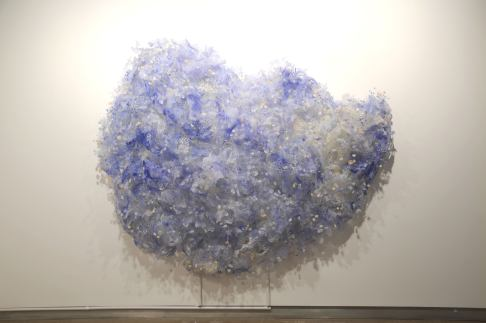 4.Yuriko Yamaguchi,-Cloud within Cloud-, 2016